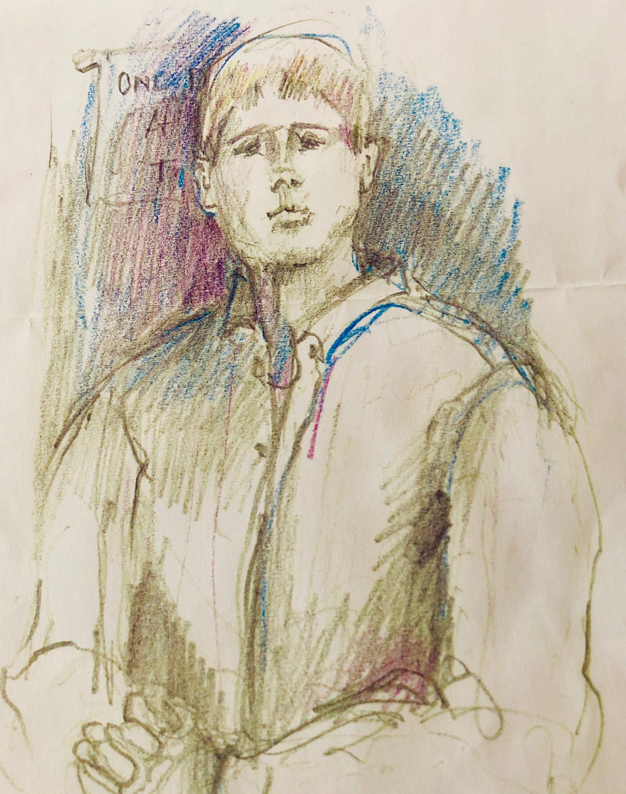 Sketch of Caleb